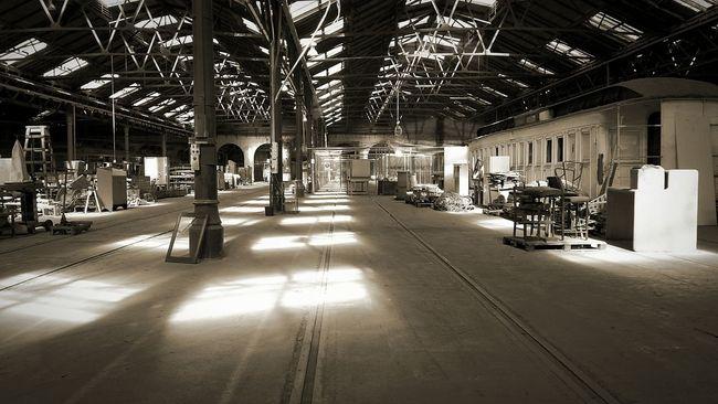 thomas // Train Yard Sitevisit Shed History