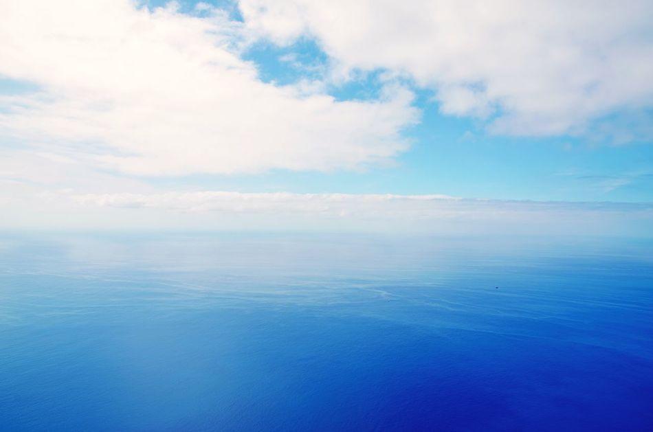 Geradeaus nur Meer bis zur Antarktis Madeira Funchal