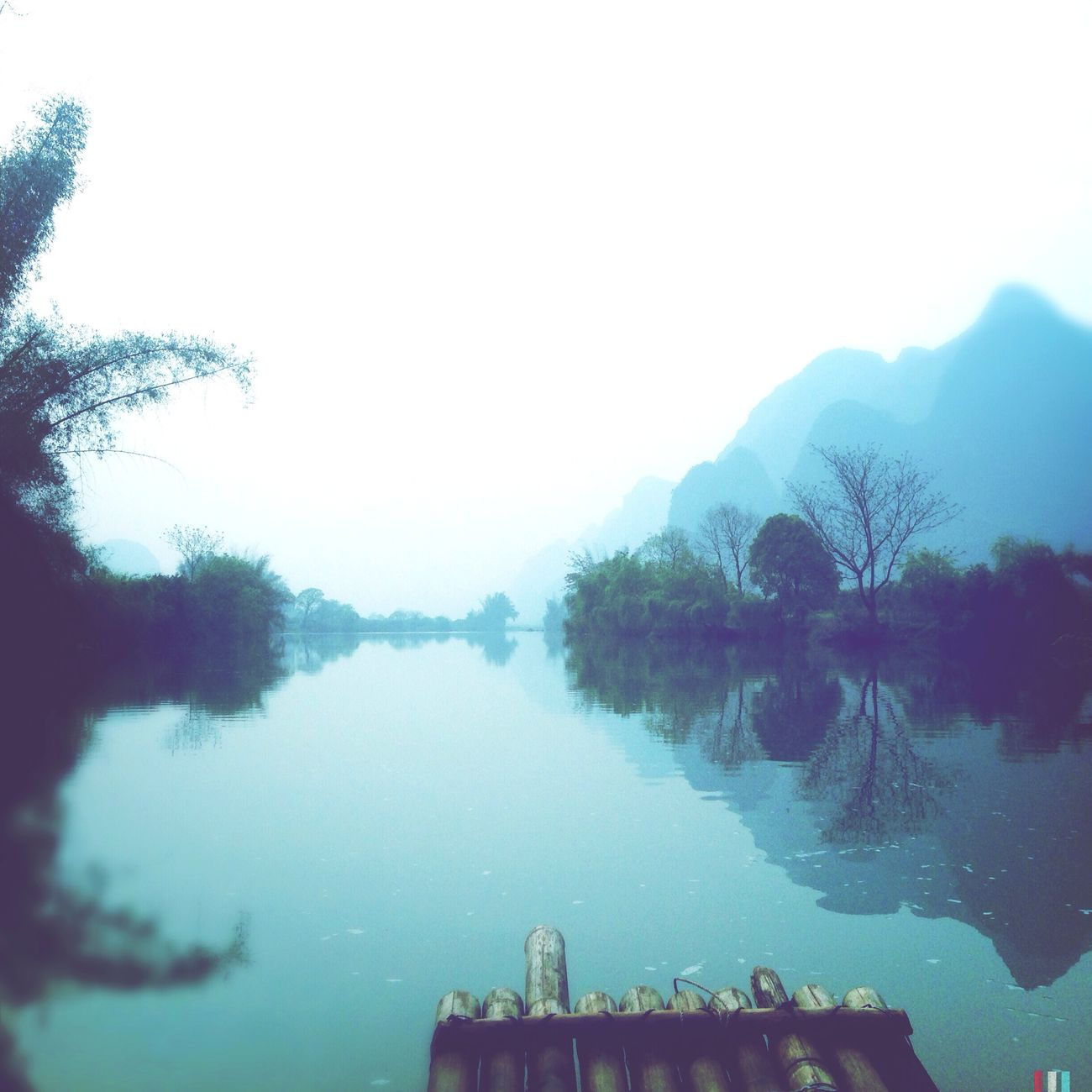 Time To Reflect Yangshuo Yulonghe Reflection