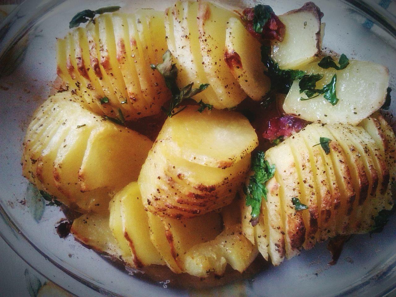 Dinner Dinner Time Potatoes Patate Con Pancetta BuonaCenaATutti La Cena? Buonappetito Alforno