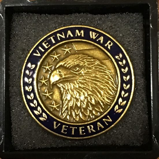 The DAR recognized Vietnam Veterans today in my home town. I am honored that they would do this for us!