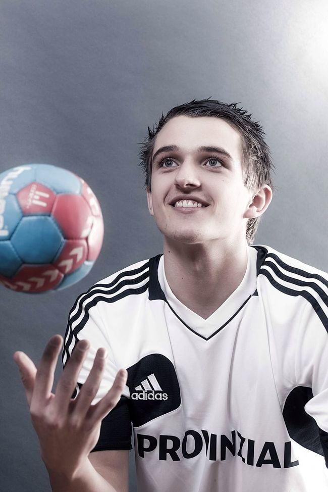 THW Kiel Handball Portrait Studio Goalkeeper