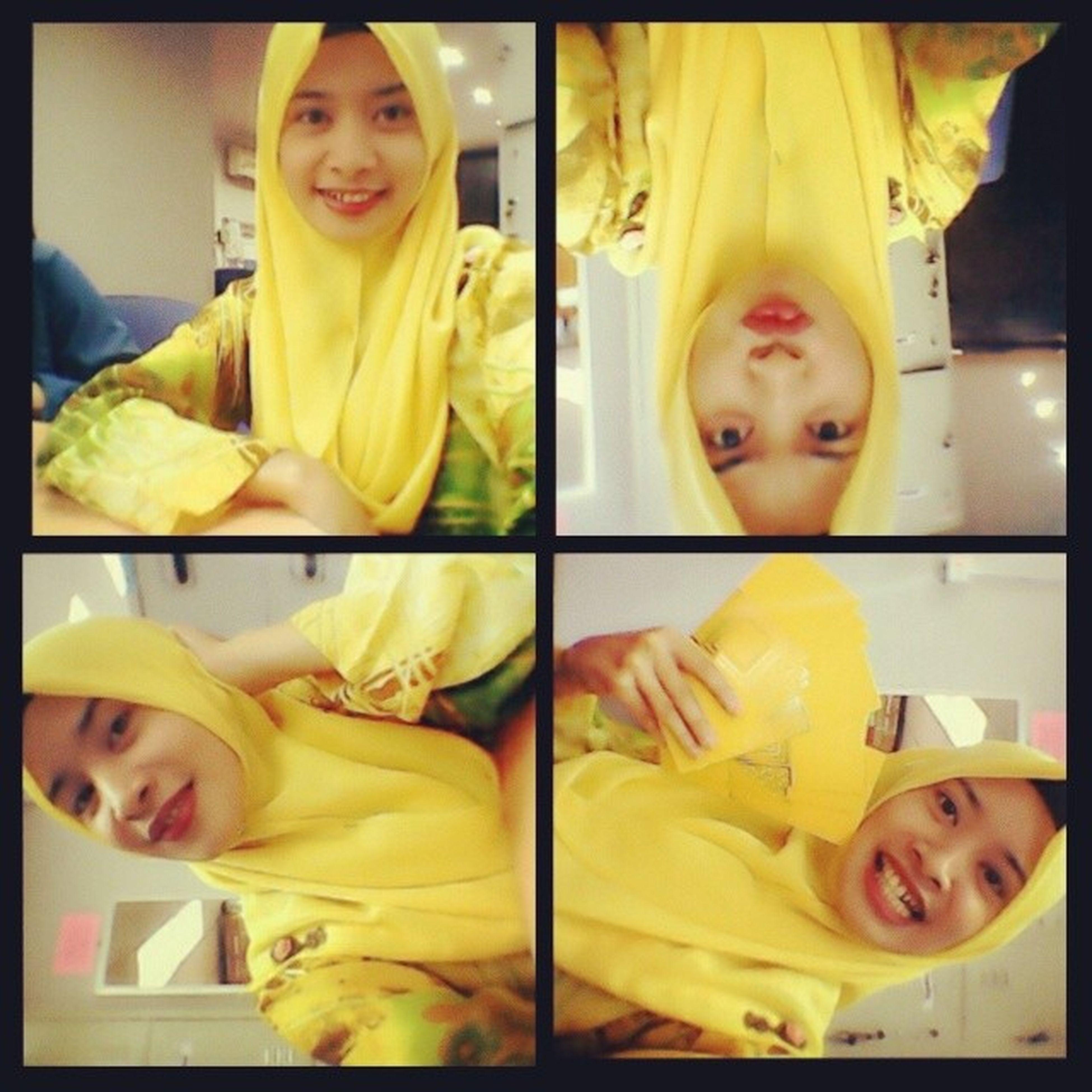 This will happen if i was so happy! Yesterday Yellow Kerabatdiraja :D