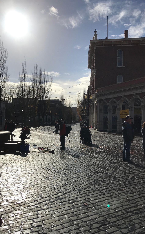 Snap A Stranger Street Sunlight City