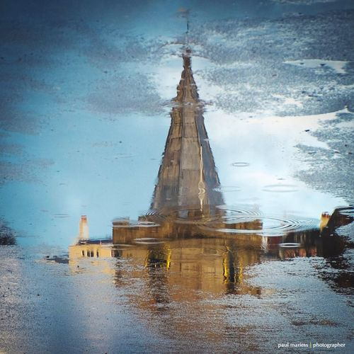 Church Reflection Reflection_collection Eyem Best Shots EyeEm Best Shots Guernsey Water_collection Water Reflections Eye4photography