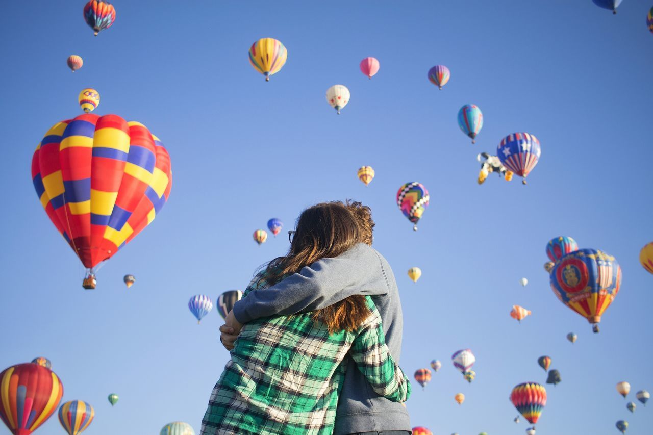 Beautiful stock photos of goodbye, Bonding, Clear Sky, Couple - Relationship, Day
