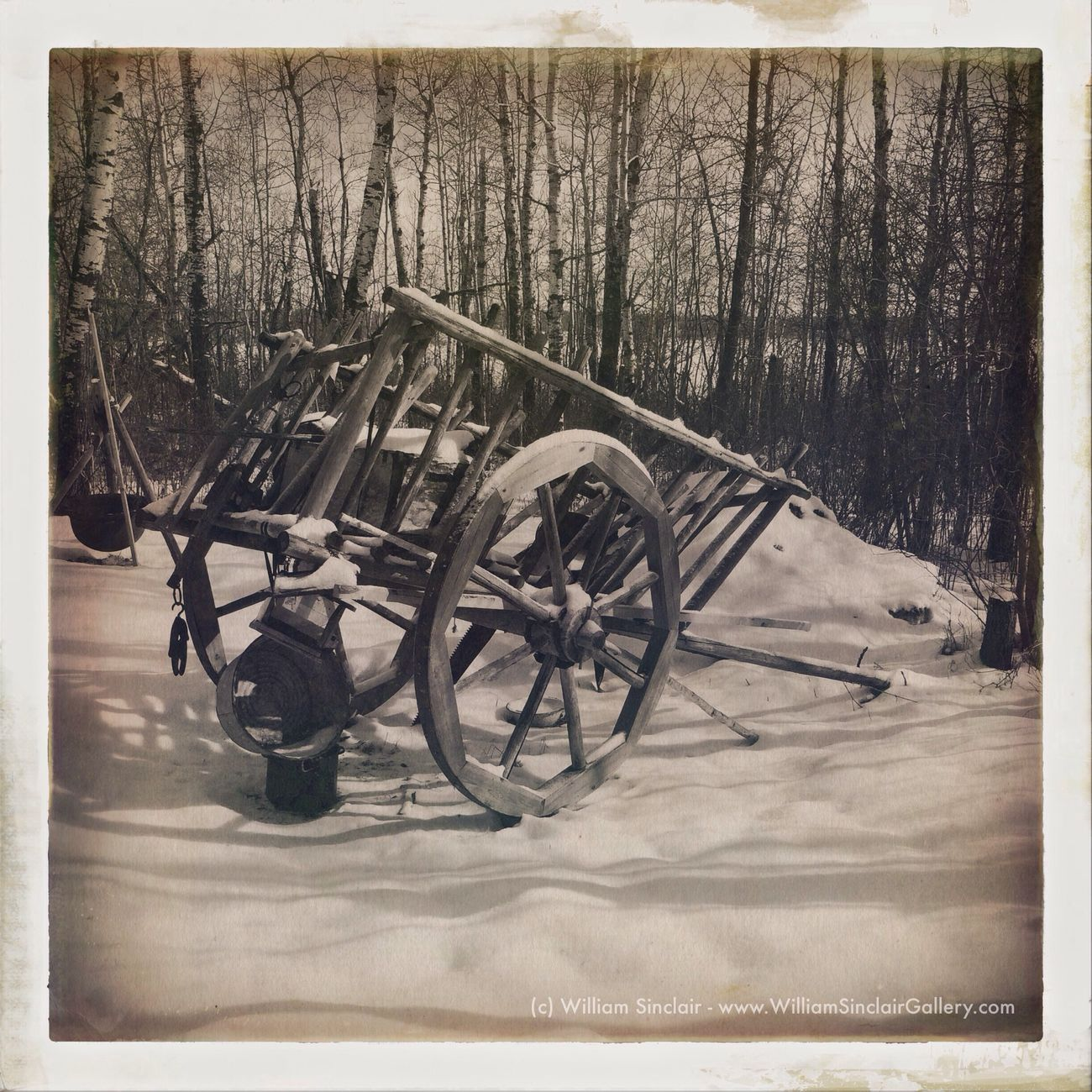 """The Wagon"" IPhoneography Hipstamatic Tejas Uchitel20"