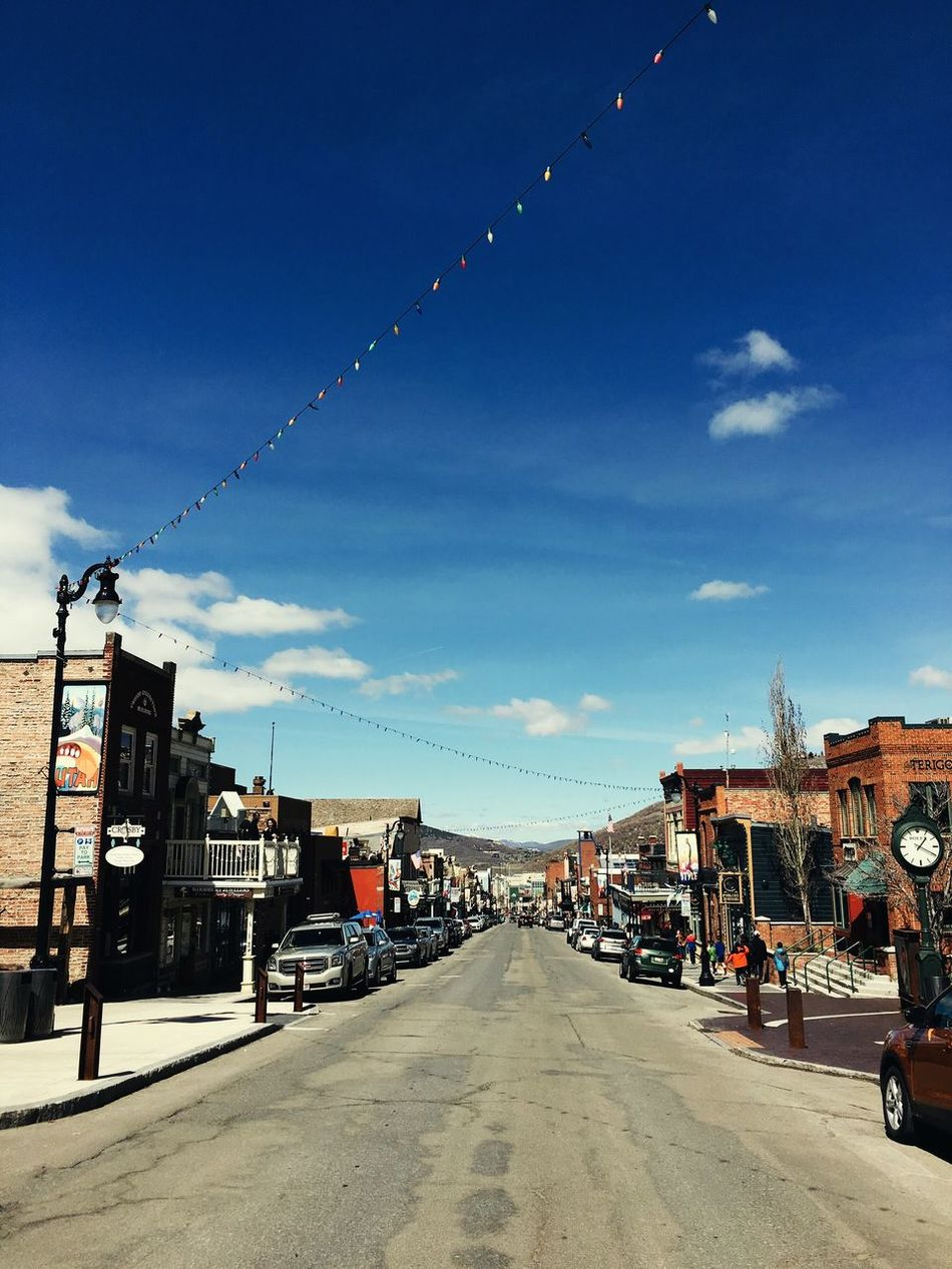 Main Street view in Park City, Utah