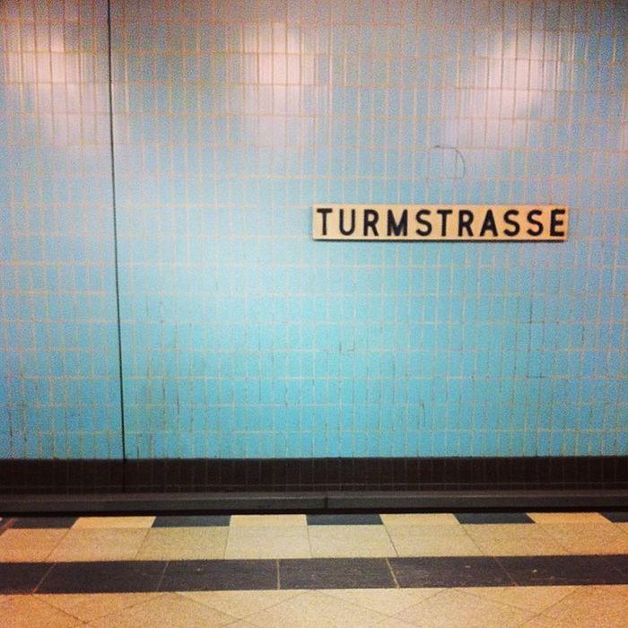 Berlin Ubahn Turmstrasse