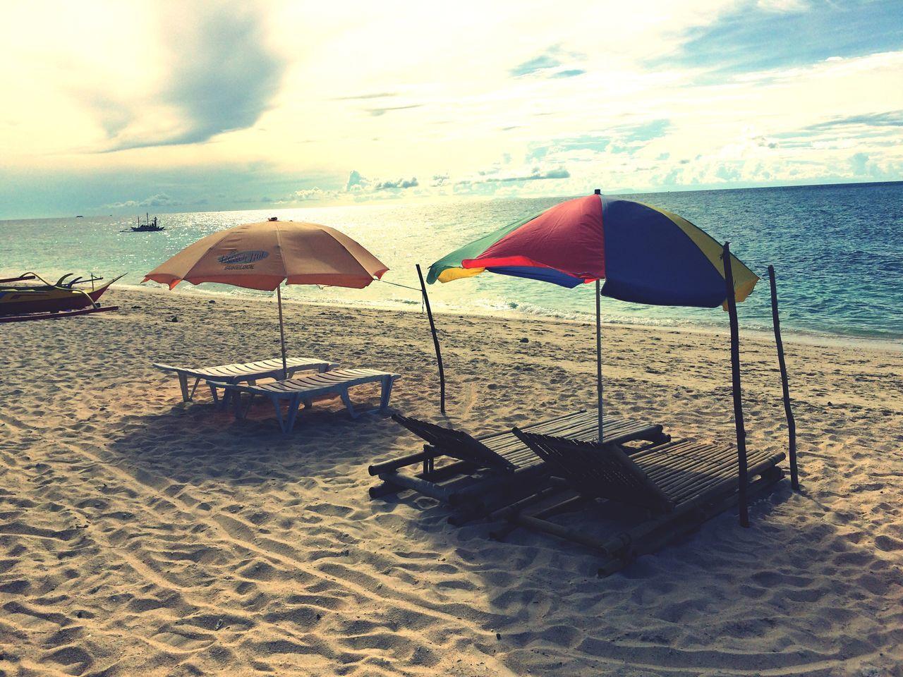 How the blue of the ocean flirts with the sun's golden beams, serenity. Summer Beach Beachphotography Boracay Summertime Beachlife Islandlife First Eyeem Photo
