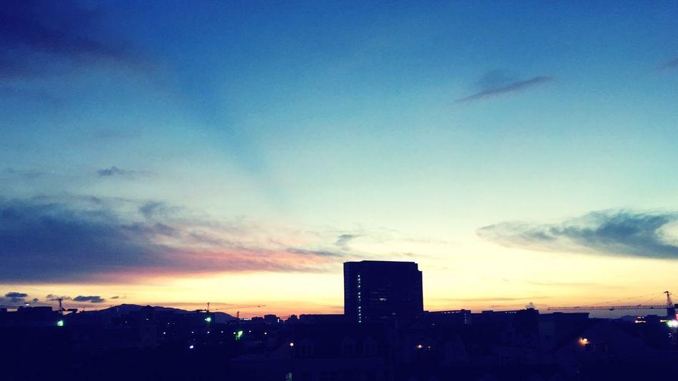 手机摄影 黄昏