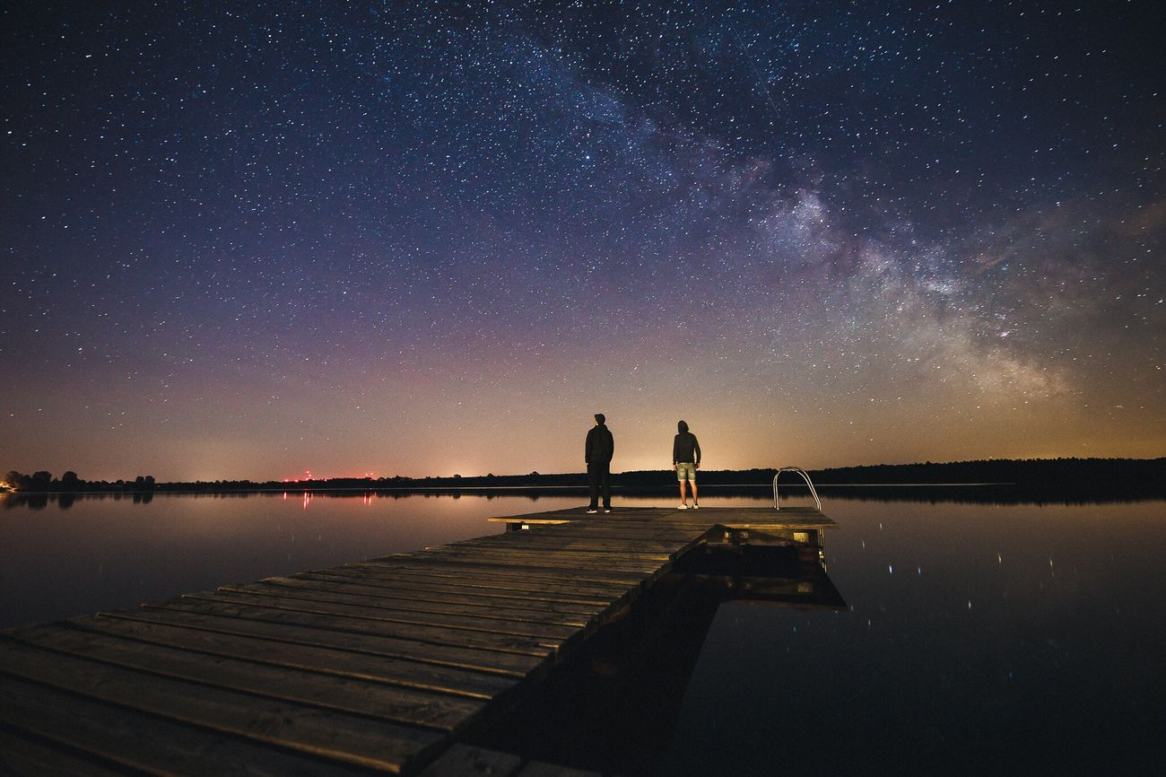 Watching movies with the sound off. | Milkyway Milky Way Stars Astrophotography Traveling Travel Travel Destinations Ezuml Available Light Lake Sea And Sky Nightphotography Night Photography Night View Feel The Journey Original Experiences