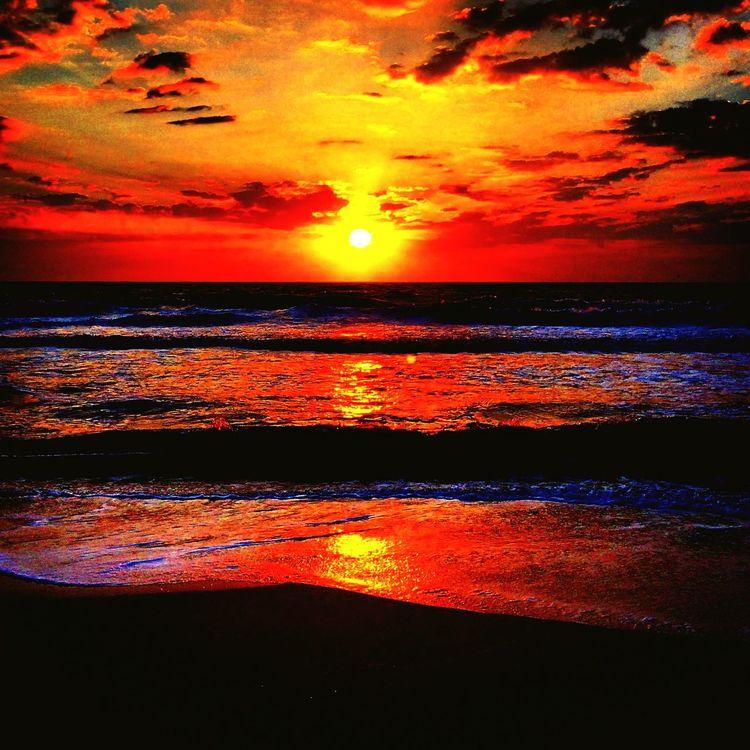 Skyporn Sunrise Beach Ocean View Atlantic Ocean Amelia Island EyeEm Nature Lover TracyAWeiss Sandytoesstudio