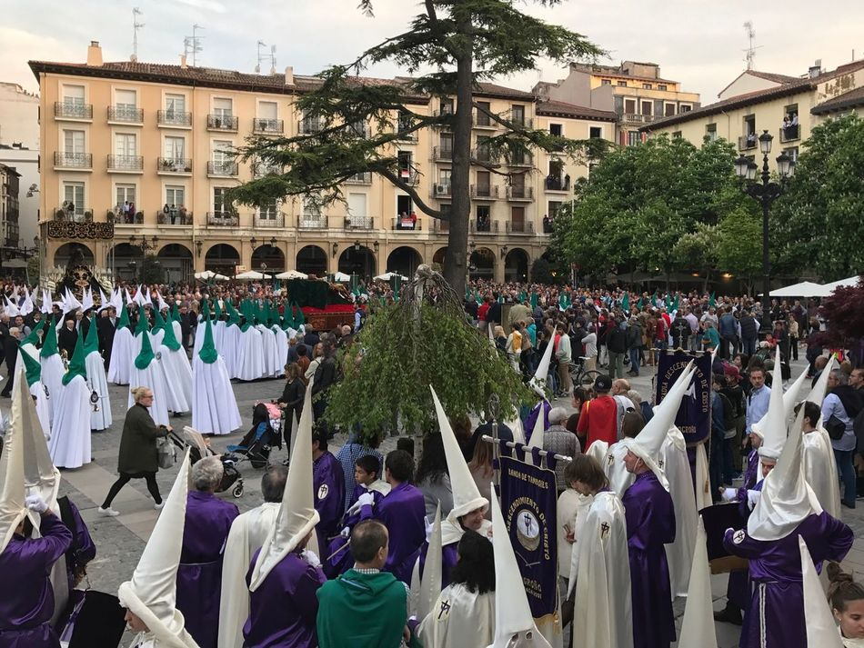 Logronyo Logroño Setmanasanta Semanasanta Hollyweek Nazarenos Procesion Processo Concatedral