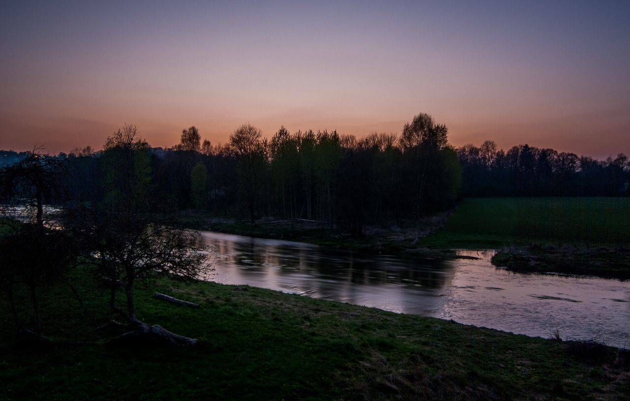 Beauty In Nature Bestoftheday Day Evening Forest Grass HDR Lake Landscape Nature Night Nightphotography Nikon No People Outdoors Reflection River Scenics Silhouette Sky Sunset Tranquil Scene Tranquility Tree Water
