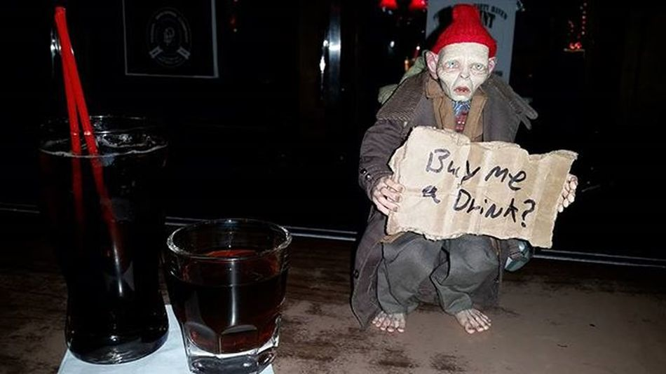 Time for a drink. Drunktoys Smeagol Neca