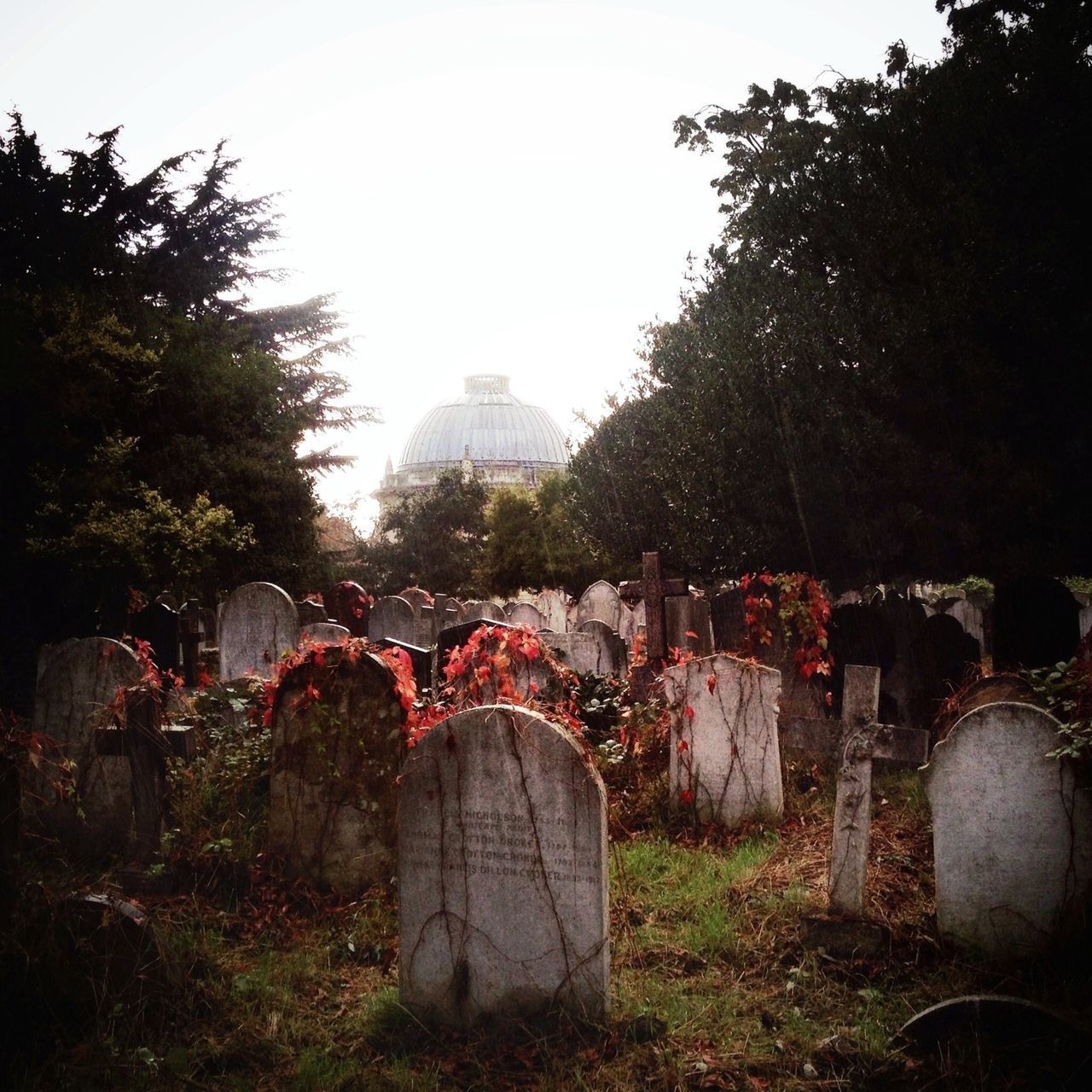 Beautiful stock photos of death, Cemetery, City of London, Clear Sky, Conformity