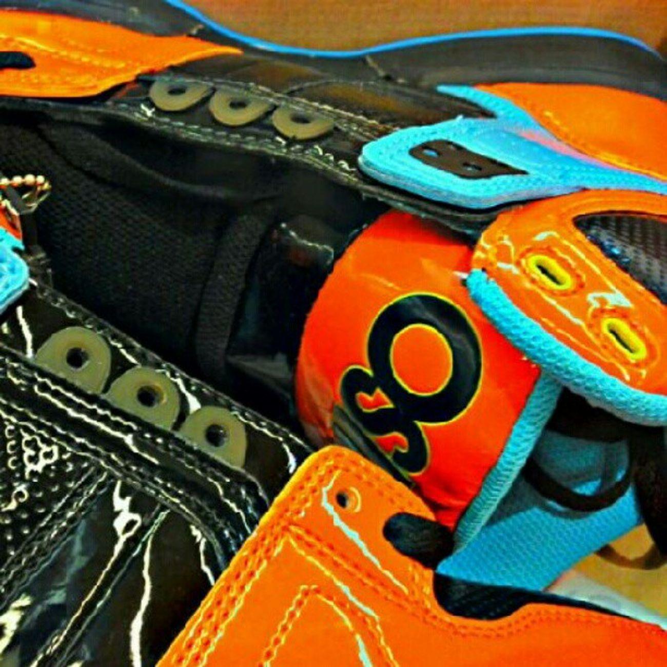 Osiris Pumpkin Orange & Black halloween shoes