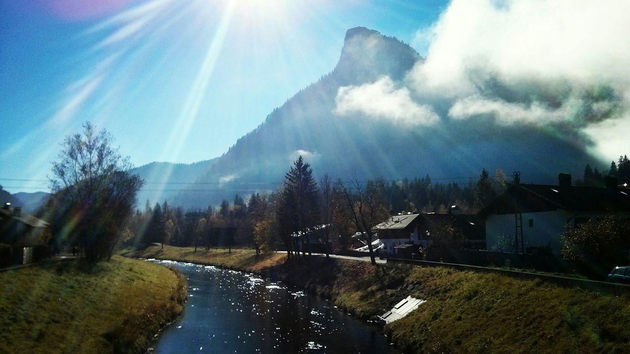 Nach dem Nebel Oberammergau Foggy Morning