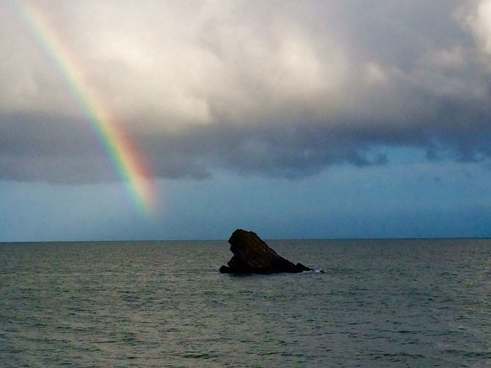 East Shag Rock, Meadfoot Beach, Torquay