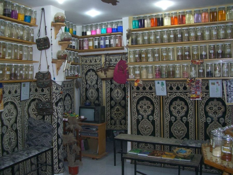 Herbalist Medicine Shop Bazaar Business Colourful Composition Culture Fes Full Frame Glass Jars Herbalists Herbs Illuminated Indoor Photography Indoors  Jars  Medicine Morocco Multi Coloured No People Seats Shop Tourism Traditional
