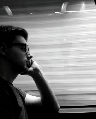 Thoughtful Or Bored Brother Whoknows ThoughtsInthebus Bus Travelling Relaxing Hello World Taking Photos Enjoying Life Ontheroad