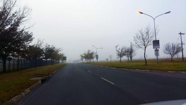 Misty Morning Misty Sunrise Misty Day Misty Sky Misty Road On The Way The Journey Is The Destination
