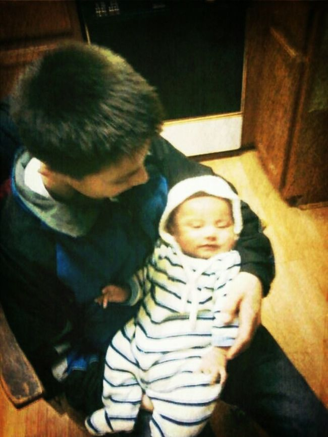 Best Uncle Ever!  I Love My Brother And Nephew :)
