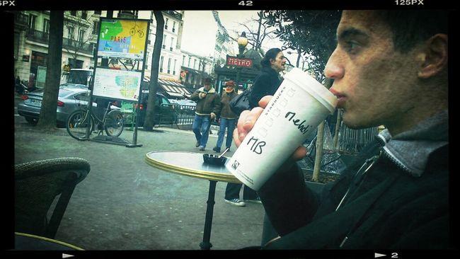 Hanging Out Hot Coffee Starbucks Coffee Caramel Macciato