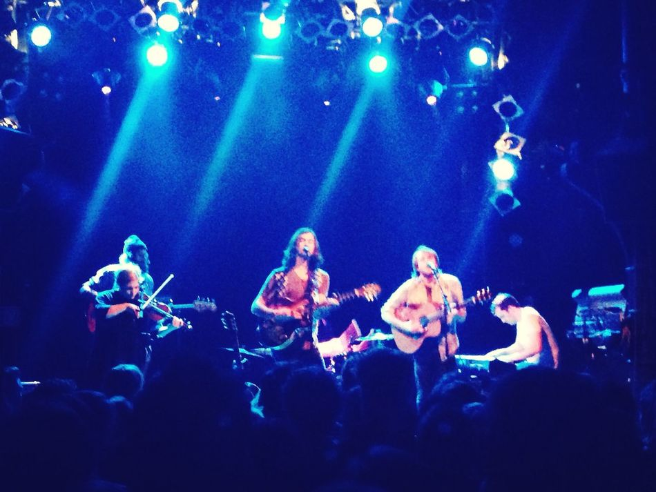 The Head and the Heart. Incredible Energy on the Stage. Concert Awesome Performance
