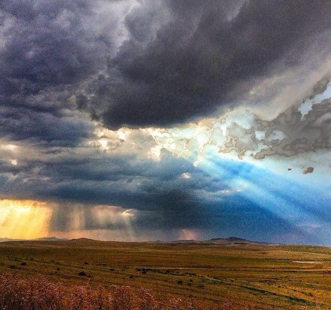 Polatlı Ankara Turkuaz Gokyuzu Fly Clody Bulut ışıl Sun