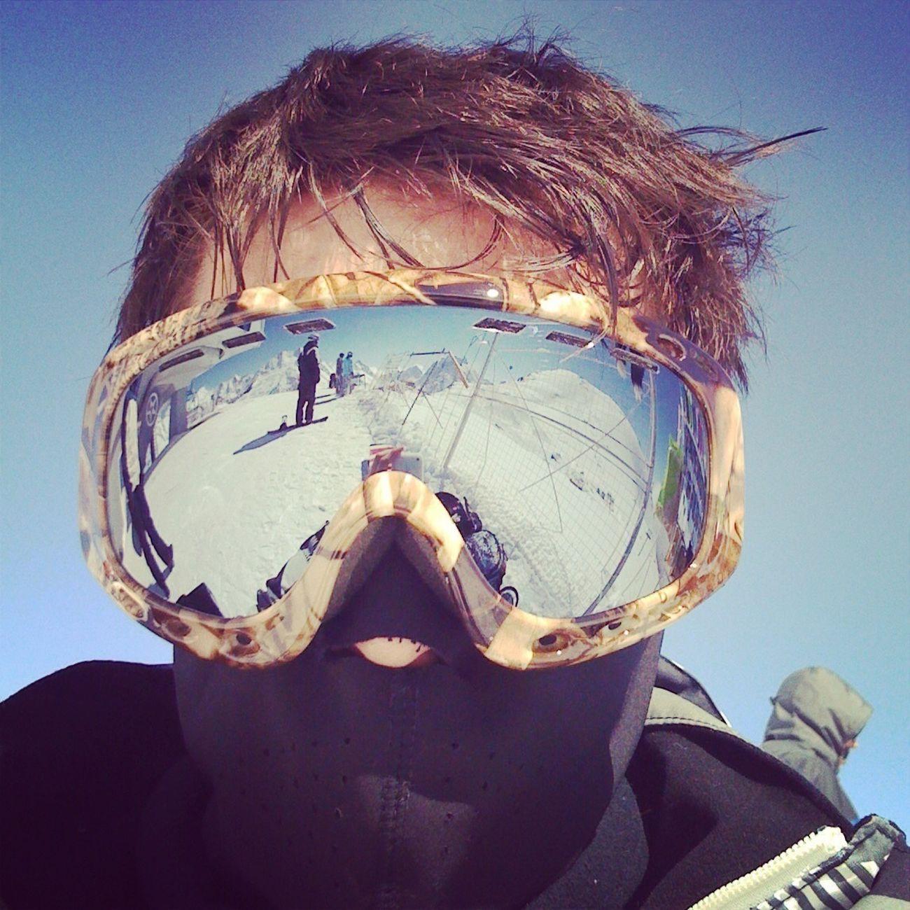 Self Portrait Sport Snowboarding