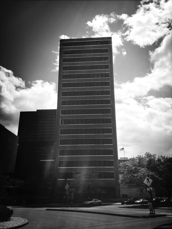 Brutalism Blackandwhite Architecture Sky