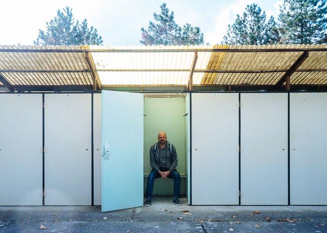 Portrait Harkany Hungary Minimalism Architecture Locker Room