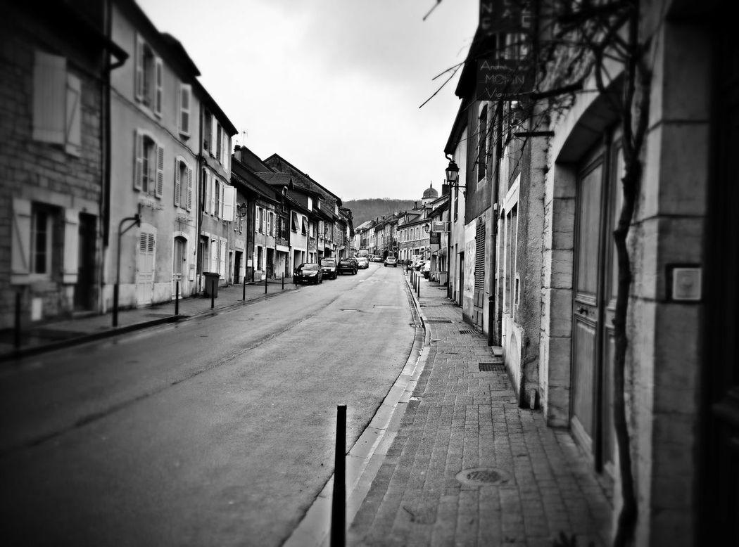 Rue Streets France Blackandwhite Hello World