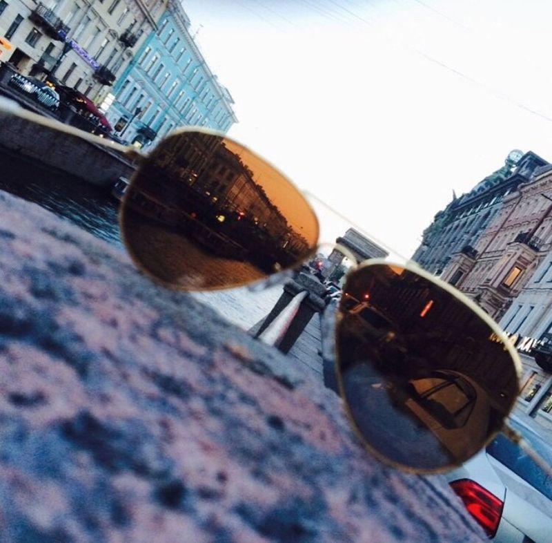 Sunnglases St Petersburg Summer