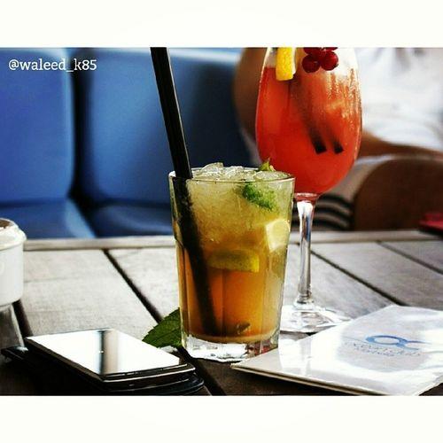 at OceanClub OceanClubMarbella enjoying a Mojito and a Cocktail . Near the beach at PuertoBanus Puerto_banus. marbella malaga andalusía spain españa. Taken by my SonyAlpha dslr a200. Taken in my 2012 summer trip ماربيا اسبانيا بحر شاطئ
