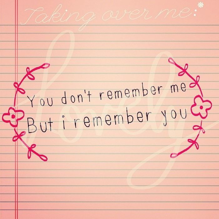 You don't remember me, but i remember you! TakingOverMe Ibelieveinyou Evanescence Fallen ABeautifulMess