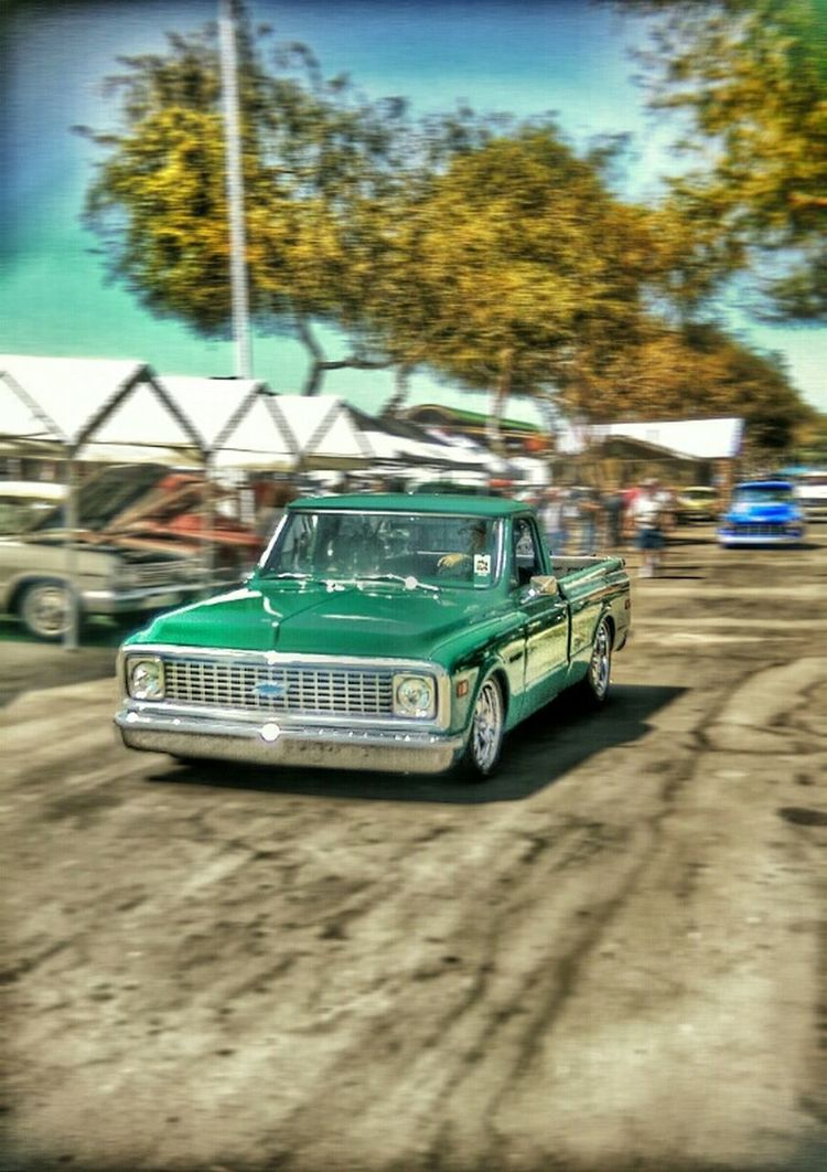 Like a rock. Chevy Chevy Truck Classictruck HDR Htc One M8 Streetphotography CarShow Color Photography EyeEm Best Shots Vintage Photo