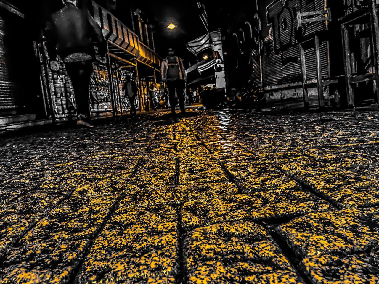 Istanbul Night Architecture The Way Forward Built Structure Illuminated No People Outdoors Building Exterior City Paving Stone Sidewalk