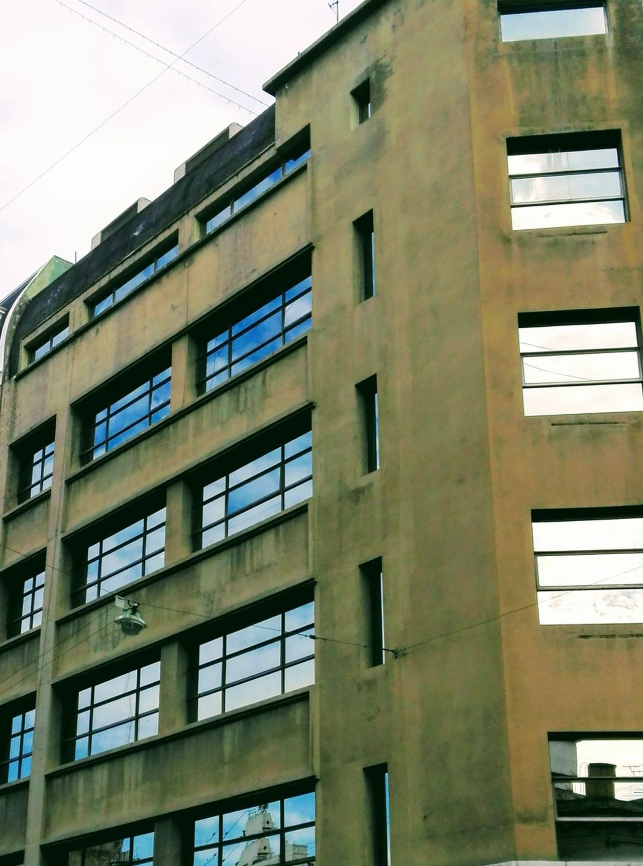 Urban Exploration Cityexplorer City Building Exterior Window Architecture Built Structure Outdoors Low Angle View Day No People Sky