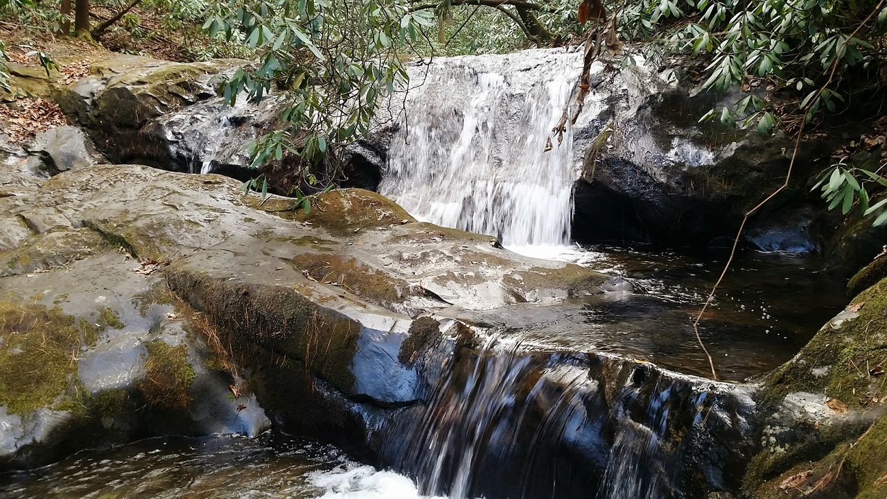 Water Motion Waterfall Beauty In Nature Nature Scenics Close-up Outdoors Chattahoochee National Forest Ravencliffstrail