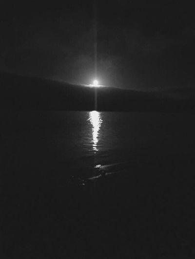 Late night moon🌕