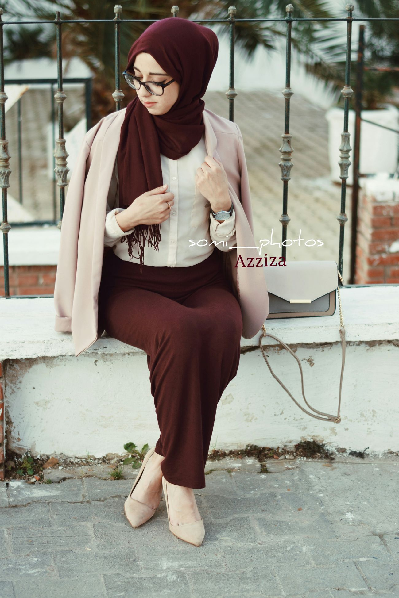 Fashion Portrait Hidjab Woman Portrait Photography