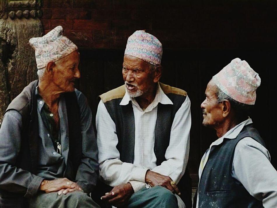 Lovenepal Nepali  Nepalese Nepalipeople😊 Nepaleseguy Intense Storytelling Intense Discussion Oldies Chitchat Village Road Teashop