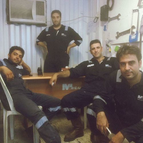 Oilfield Base Cement_truck Mehran Engneering Well Services