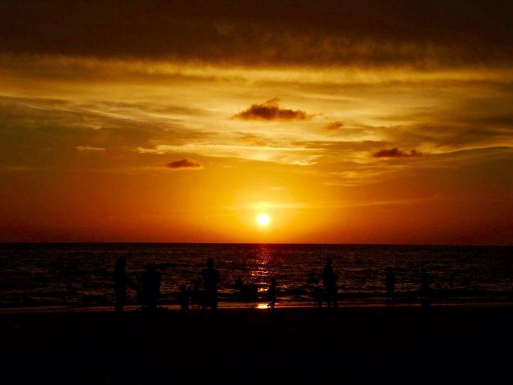 Sunset Silhouettes Sunset_collection Beach Photography Beachphotography Sunset_captures Sky And Clouds Sky_collection Nature_collection Scenery Shots EyeEm Gallery EyeEm Best Shots Simplyscenic Simplyscenic_photography