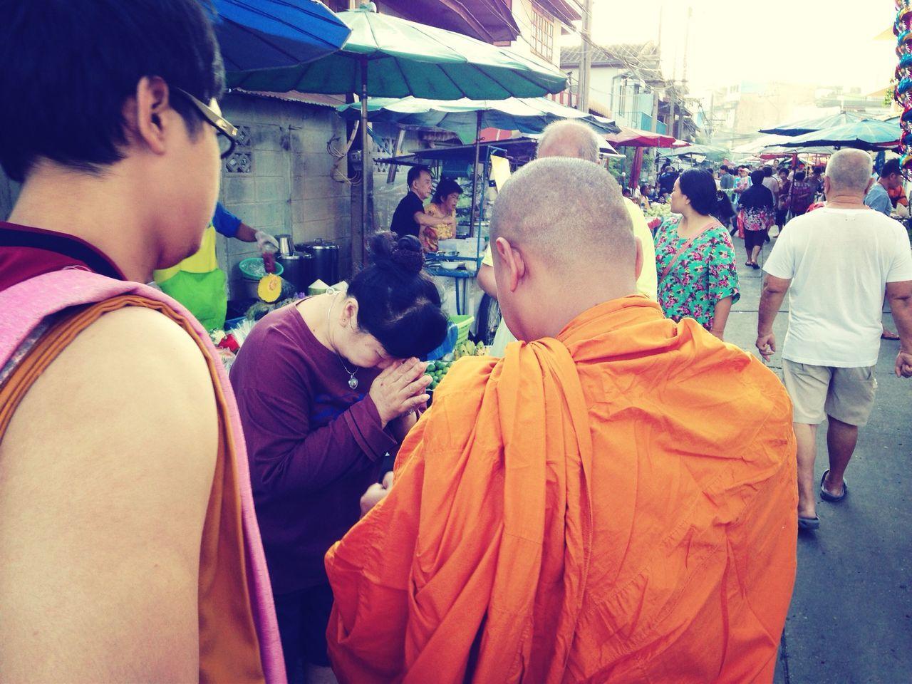 Morning merit Merit Feeling Thankful Spotted In Thailand
