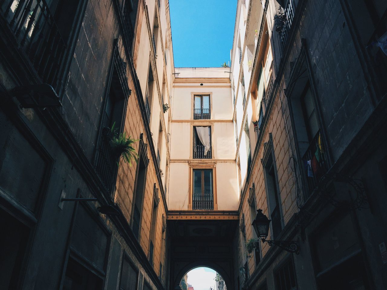Gothic quarters. Architecture Arches Gothic Apartment Narrow Street Vscocam VSCO Wanderlust Traveling