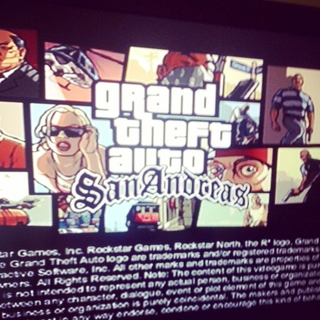 GTA Gtasanandreas Ps2
